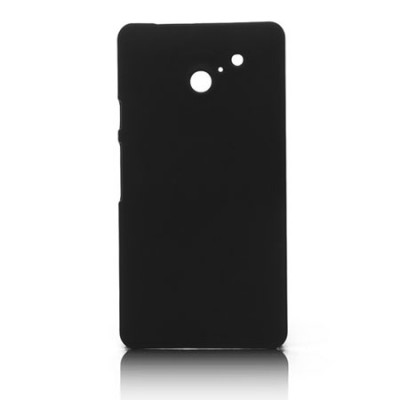 CUSTODIA BACK RIGIDA per HUAWEI ASCEND D2 COLORE NERO