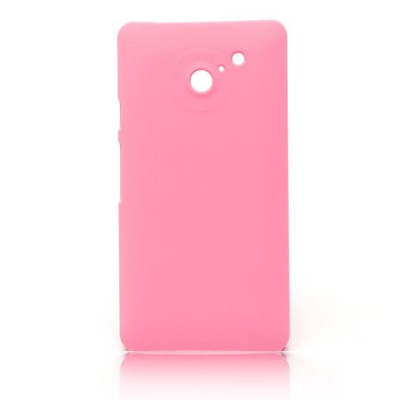 CUSTODIA BACK RIGIDA per HUAWEI ASCEND D2 COLORE ROSA
