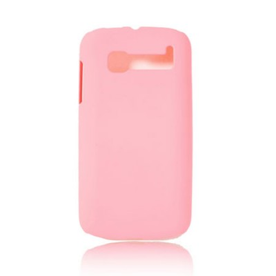 CUSTODIA BACK RIGIDA per ALCATEL ONE TOUCH POP C5 COLORE ROSA