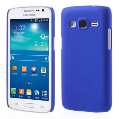 CUSTODIA BACK RIGIDA per SAMSUNG G3812 GALAXY WIN PRO COLORE BLU