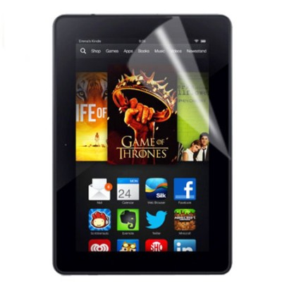 PELLICOLA PROTEGGI DISPLAY per AMAZON KINDLE FIRE HDX 7, 7.0' POLLICI