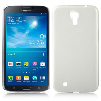 CUSTODIA BACK RIGIDA ULTRA SLIM DA 0,3mm per SAMSUNG I9200 GALAXY MEGA 6.3' POLLICI, I9205 COLORE BIANCO