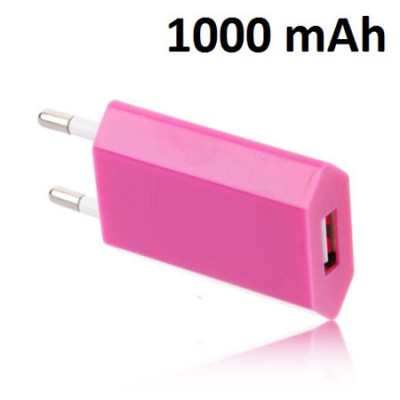 TRAVEL CASA SLIM USB 1000 mAh COLORE FUCSIA