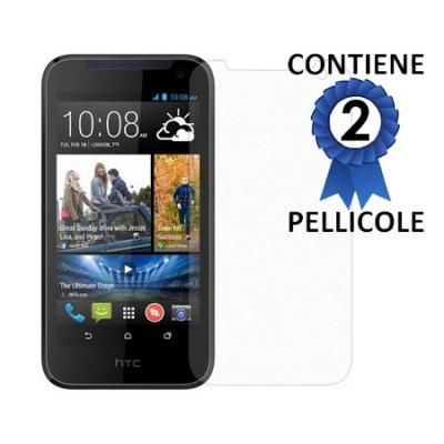 PELLICOLA PROTEGGI DISPLAY per HTC DESIRE 310 CONFEZIONE 2 PEZZI