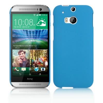 CUSTODIA BACK RIGIDA per HTC ONE 2 ( M8 ), ONE M8s COLORE BLU