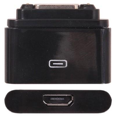 ADATTATORE MAGNETICO per SONY XPERIA Z1, XPERIA Z ULTRA CON ENTRATA MICRO USB FEMMINA COLORE NERO (SOLO CARICA)