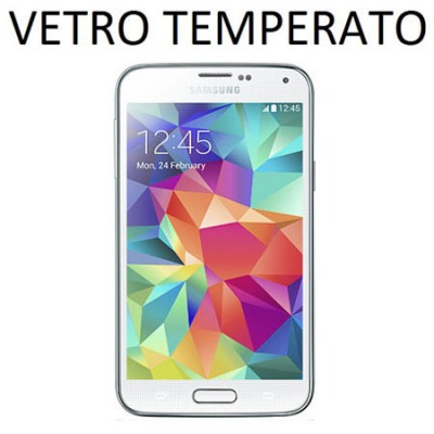 PELLICOLA PROTEGGI DISPLAY VETRO TEMPERATO 0,33mm per SAMSUNG G800 GALAXY S5 MINI