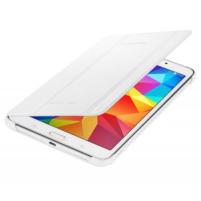 CUSTODIA BOOK COVER ORIGINALE SAMSUNG CON STAND COLORE BIANCO per GALAXY TAB 4 7.0, SM-T230 7' POLLICI BLISTER