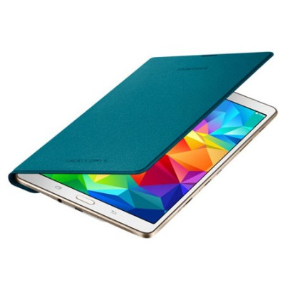 CUSTODIA SIMPLE COVER ORIGINALE SAMSUNG per GALAXY TAB S 8.4, 8.4' POLLICI COLORE BLU MINT EF-DT700BLEGWW BLISTER