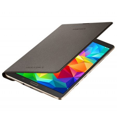 CUSTODIA SIMPLE COVER ORIGINALE SAMSUNG per GALAXY TAB S 8.4, 8.4' POLLICI COLORE BRONZO EF-DT700BSEGWW BLISTER