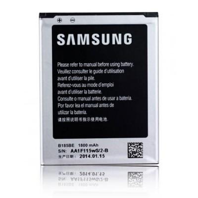 BATTERIA ORIGINALE per SAMSUNG G3500 GALAXY CORE PLUS 1800  mAh LI-ION CON TECNOLOGIA NFC EB-B185BEBECWW BULK