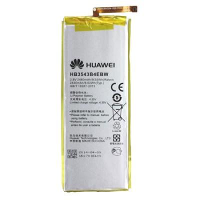 BATTERIA ORIGINALE HUAWEI HB3543B4EBW per ASCEND P7 2460 mAh LI-ION BULK