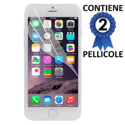 PELLICOLA PROTEGGI DISPLAY per APPLE IPHONE 6, IPHONE 6S 4.7' POLLICI CONFEZIONE 2 PEZZI