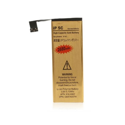 BATTERIA per APPLE IPHONE 5C - 2680 mAh LI-ION POLYMER