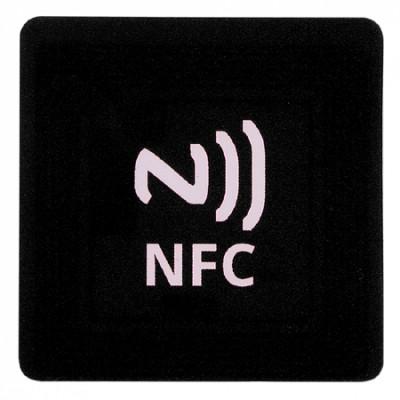 STICKER ADESIVO NFC TAG 137 Byte NTAG203 COLORE NERO