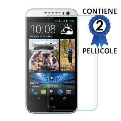 PELLICOLA PROTEGGI DISPLAY per HTC DESIRE 616 CONFEZIONE 2 PEZZI