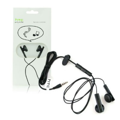 AURICOLARE STEREO ORIGINALE HTC RCE-160 JACK 3,5mm per HD2, TOUCH2 BLISTER SEGUE COMPATIBILITA'..