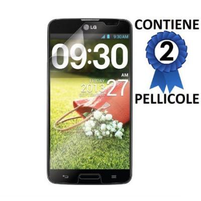 PELLICOLA PROTEGGI DISPLAY per LG D680 G PRO LITE, D682TR CONFEZIONE 2 PEZZI