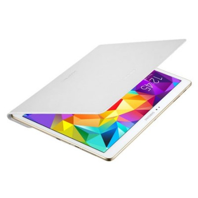 CUSTODIA SIMPLE COVER ORIGINALE SAMSUNG per GALAXY TAB S 10.5, 10.5' POLLICI COLORE BIANCO EF-DT800BWEGWW BLISTER