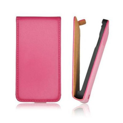 CUSTODIA FLIP VERTICALE SLIM PELLE per APPLE IPHONE 6 PLUS, IPHONE 6S PLUS 5.5' POLLICI COLORE ROSA