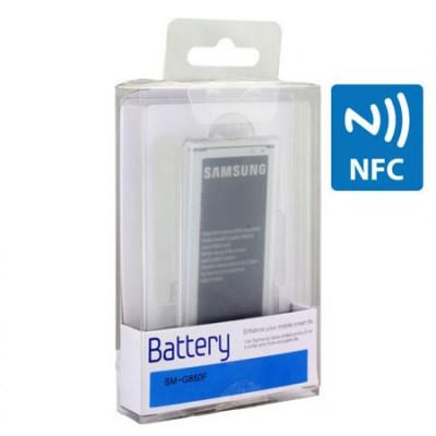 BATTERIA ORIGINALE SAMSUNG EB-BG850BBECWW per G850 GALAXY ALPHA 1860 mAh LI-ION CON TECNOLOGIA NFC BLISTER