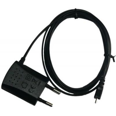 TRAVEL CASA ORIGINALE ZTE ATTACCO MICRO USB per BINGO, XIANG, X990D COLORE NERO STC-A22O50I700M5-A BULK