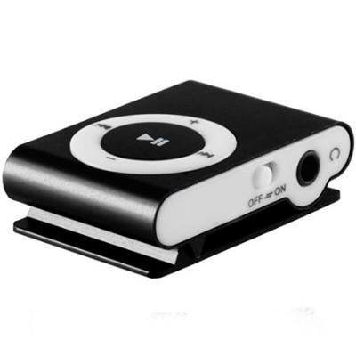 MINI LETTORE MP3 CON CLIP, SLOT MICRO SD E USCITA MINI USB COLORE NERO