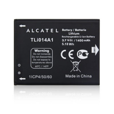 BATTERIA ORIGINALE ALCATEL TLI014A1 per VODAFONE 875 SMART MINI, 785 SMART 4 MINI 1400 mAh LI-ION BULK