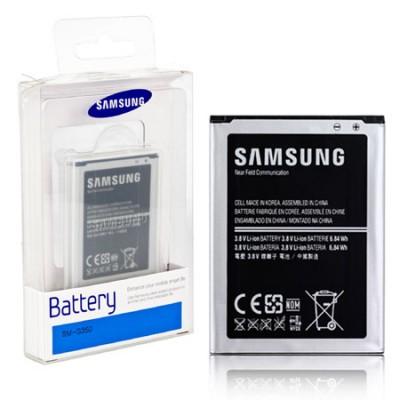 BATTERIA ORIGINALE per SAMSUNG G3500 GALAXY CORE PLUS 1800 mAh LI-ION CON TECNOLOGIA NFC EB-B185BEBECWW BLISTER