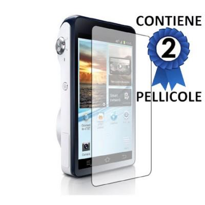 PELLICOLA PROTEGGI DISPLAY per SAMSUNG GALAXY CAMERA 2 GC200 CONFEZIONE 2 PEZZI