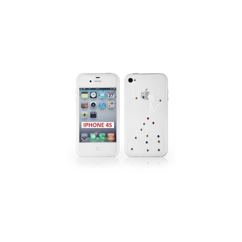 custodia silicone iphone 4s