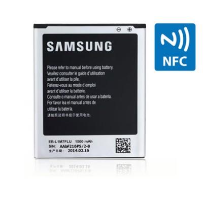 BATTERIA ORIGINALE per SAMSUNG I8190 GALAXY S3 MINI 1500 mAh LI-ION CON TECNOLOGIA NFC EB-L1M7FLUCSTD BULK