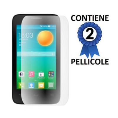 PELLICOLA PROTEGGI DISPLAY per ALCATEL 4035D POP D3 CONFEZIONE 2 PEZZI