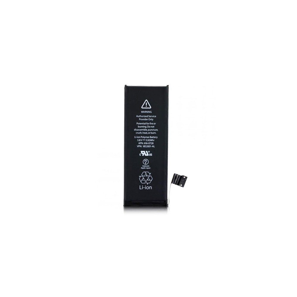 BATTERIA OEM per APPLE IPHONE 5s - APN: 616-0728 - 1560 mAh LI-ION BULK (NO LOGO APPLE)