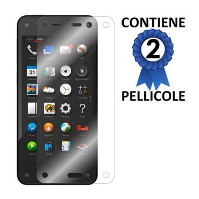 PELLICOLA PROTEGGI DISPLAY AMAZON FIRE PHONE CONFEZIONE 2 PEZZI
