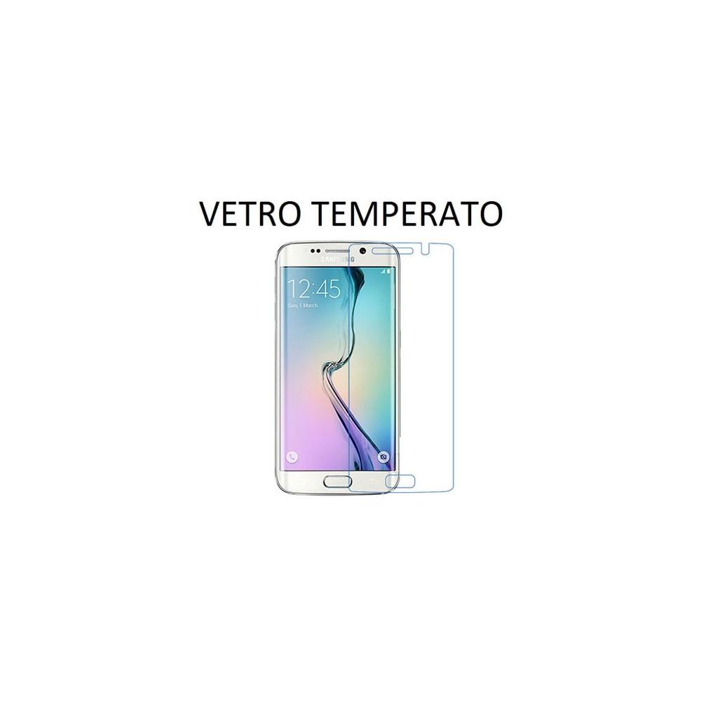 PELLICOLA PROTEGGI DISPLAY VETRO TEMPERATO 0,33mm per SAMSUNG SM-G925 GALAXY S6 EDGE - ATTENZIONE: copre parzialmente la parte f