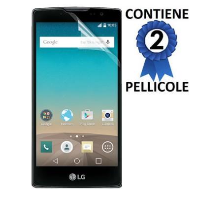 PELLICOLA PROTEGGI DISPLAY per LG SPIRIT 4G LTE H440N, H420 CONFEZIONE 2 PEZZI