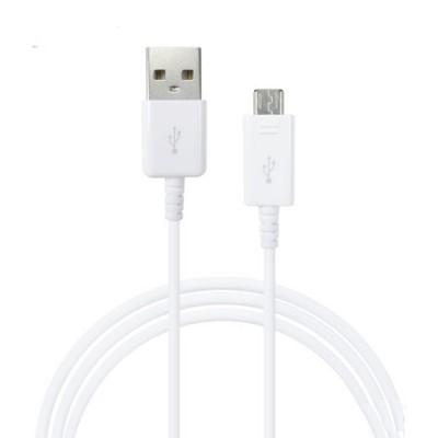 CAVO USB ORIGINALE SAMSUNG CON ATTACCO MICRO USB per GALAXY S6, GALAXY S6 EDGE COLORE BIANCO EP-DG925UWZ BULK
