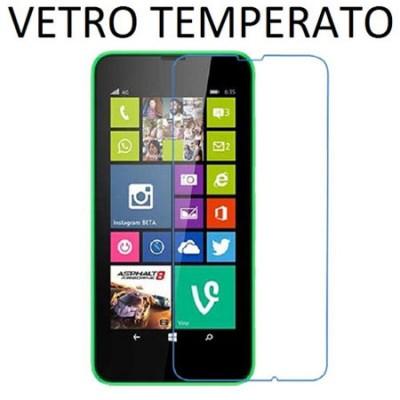 PELLICOLA PROTEGGI DISPLAY VETRO TEMPERATO 0,33mm per MICROSOFT LUMIA 640 XL