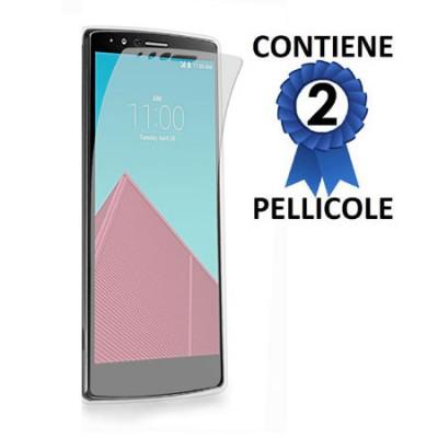 PELLICOLA PROTEGGI DISPLAY per LG G4, H815 CONFEZIONE 2 PEZZI