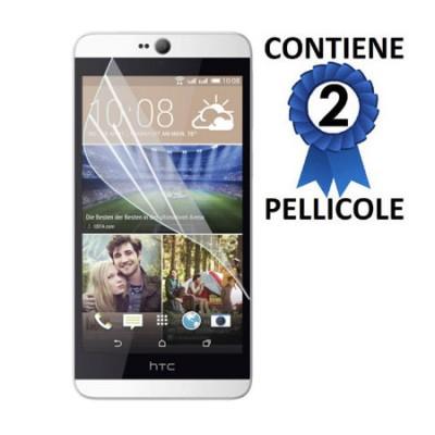 PELLICOLA PROTEGGI DISPLAY per HTC DESIRE 826, DESIRE 826 DUAL SIM CONFEZIONE 2 PEZZI