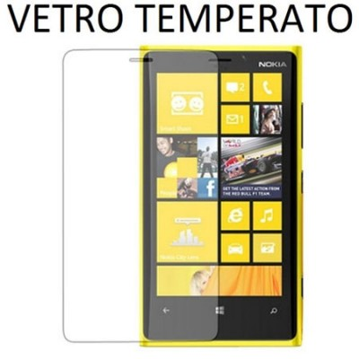 PELLICOLA PROTEGGI DISPLAY VETRO TEMPERATO 0,33mm per NOKIA LUMIA 920