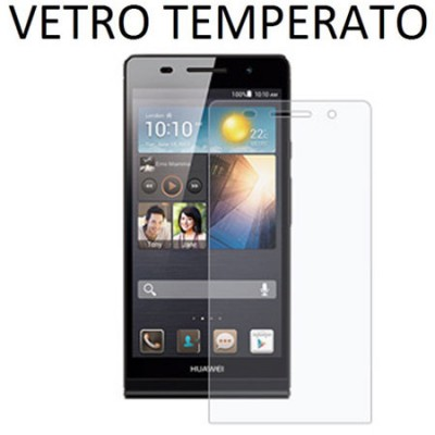 PELLICOLA PROTEGGI DISPLAY VETRO TEMPERATO 0,33mm per HUAWEI ASCEND P6