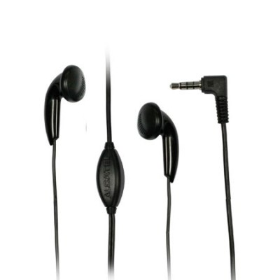 AURICOLARE STEREO ORIGINALE ALCATEL CCB3160A11C1 CON JACK 3,5mm per ONE TOUCH IDOL MINI 6012 COLORE NERO BULK
