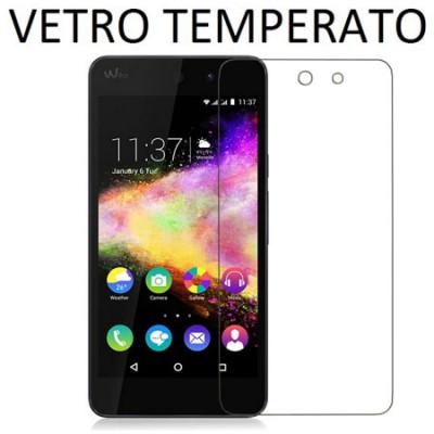 PELLICOLA PROTEGGI DISPLAY VETRO TEMPERATO 0,33mm per WIKO RAINBOW UP
