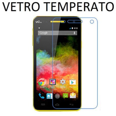 PELLICOLA PROTEGGI DISPLAY VETRO TEMPERATO 0,33mm per WIKO RAINBOW
