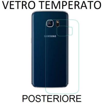 PELLICOLA PROTETTIVA POSTERIORE VETRO TEMPERATO 0,33mm per SAMSUNG SM-G925 GALAXY S6 EDGE