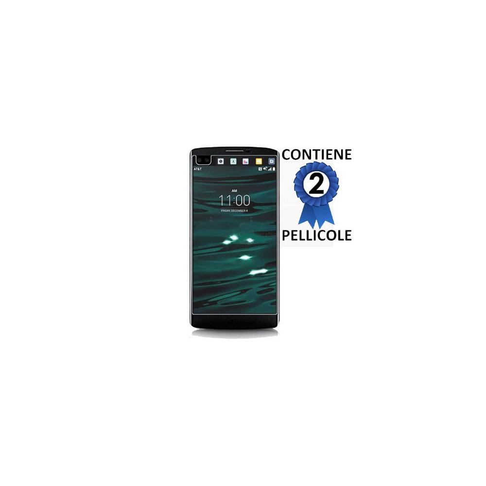PELLICOLA PROTEGGI DISPLAY per LG V10, F600K, F600L, F600S CONFEZIONE 2 PEZZI