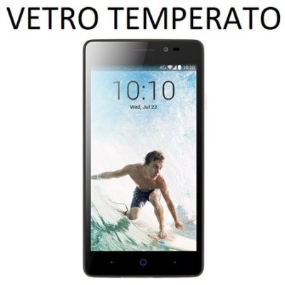 PELLICOLA PROTEGGI DISPLAY VETRO TEMPERATO 0,33mm per ZTE BLADE A450
