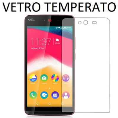PELLICOLA PROTEGGI DISPLAY VETRO TEMPERATO 0,33mm per WIKO RAINBOW JAM 3G, RAINBOW JAM 4G